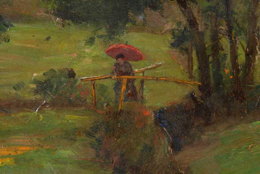 Martin, Fritz: summer landscape with Bac - photo 2