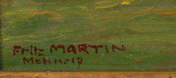 Martin, Fritz: summer landscape with Bac - photo 4
