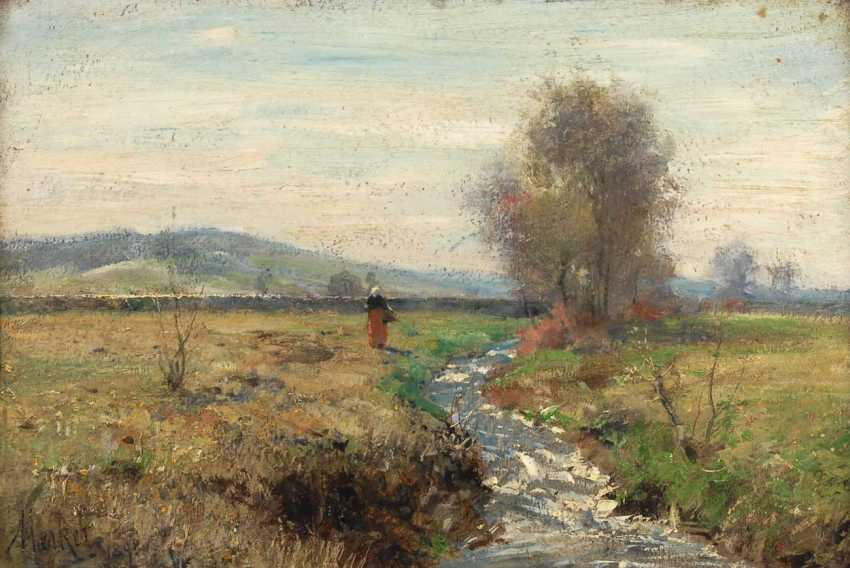 Markers, Max: a Sunny landscape with trees - photo 1