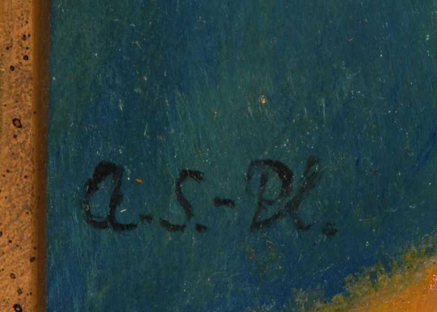"""Monogrammist """"A.S-Pl."""": Kinderbildnis. - photo 3"""