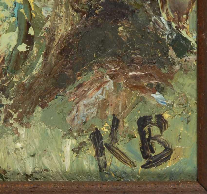 """Monogram mist """"KB"""": a river landscape. - photo 3"""