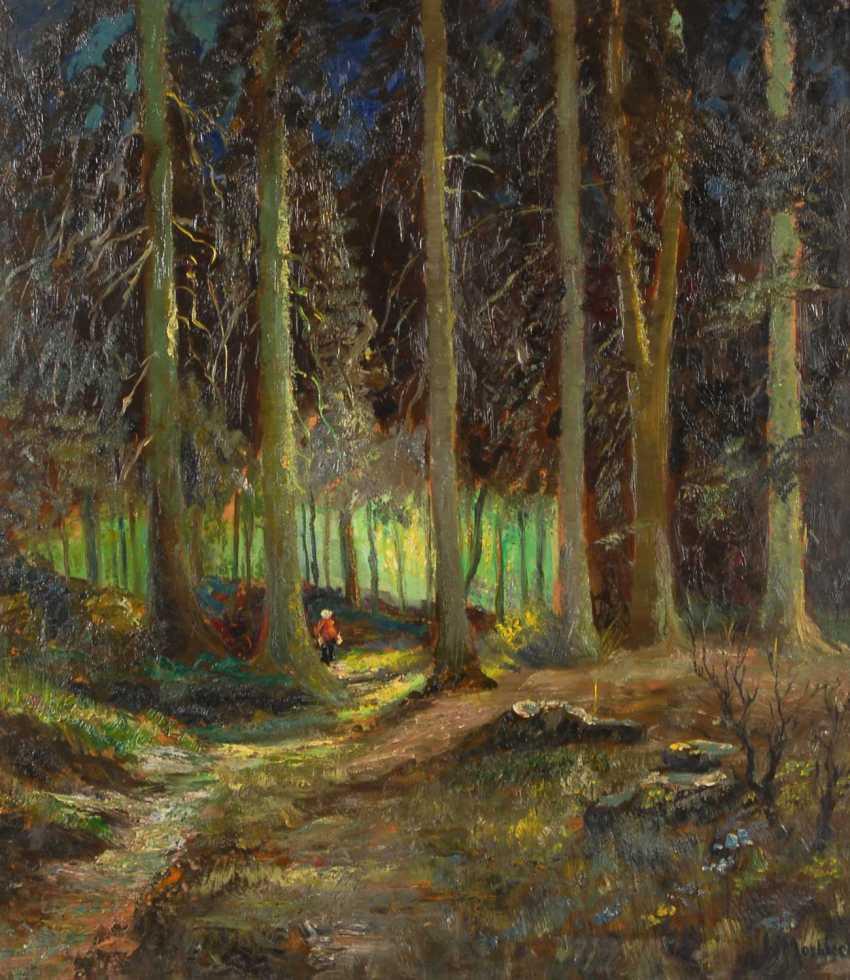 Mosblech, Carl Wilhelm: The Forest Interior. - photo 1