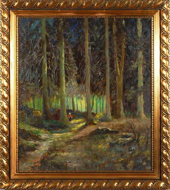Mosblech, Carl Wilhelm: The Forest Interior. - photo 2