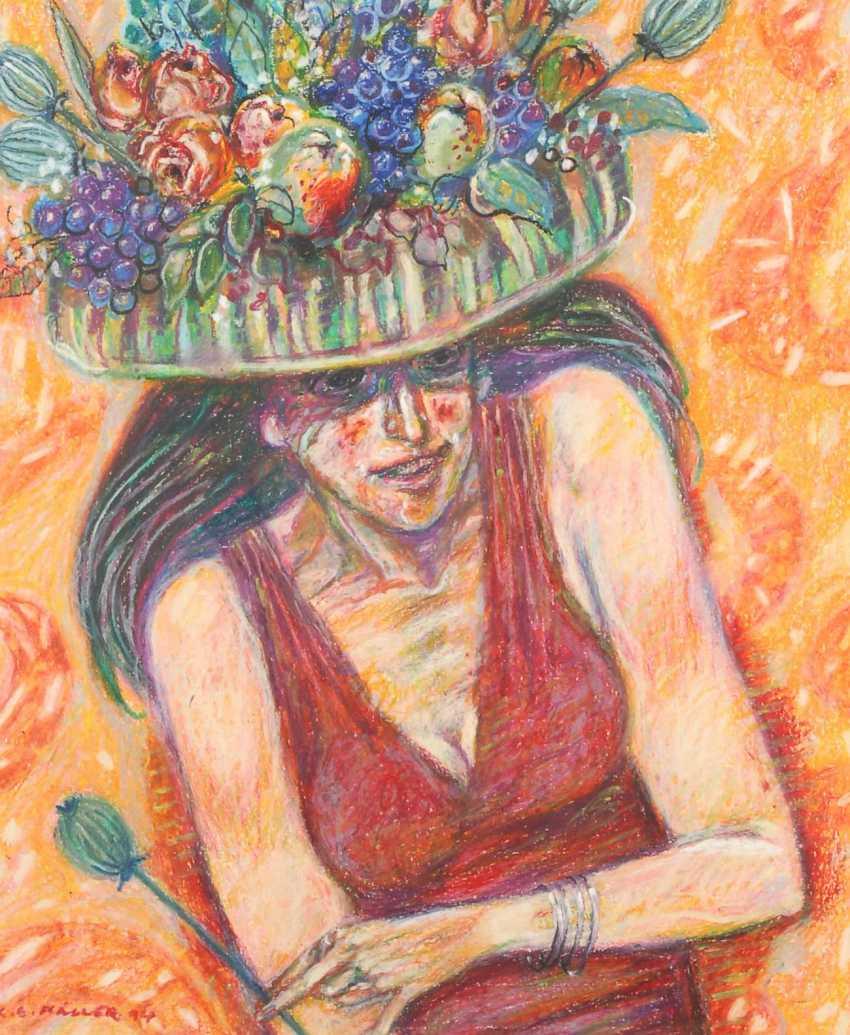 Müller, Karl Eric Height: Woman Portrait. - photo 1