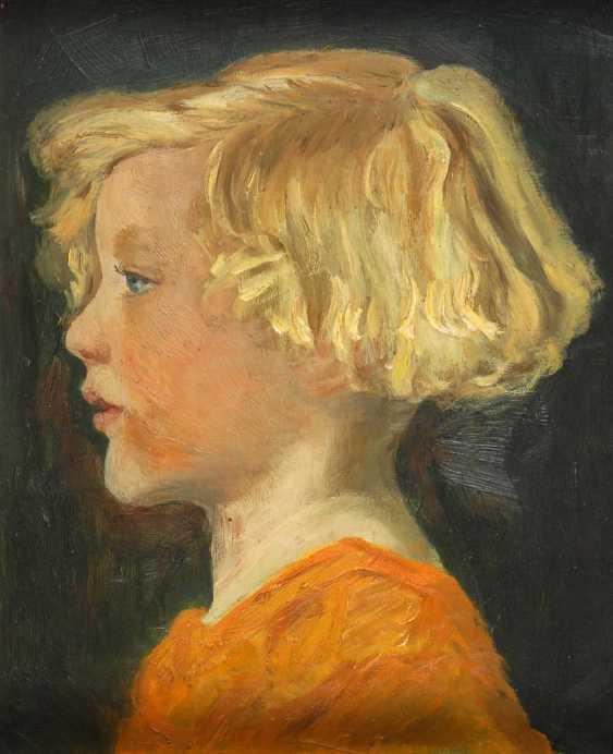 The North German Artist: Girl's Portrait - photo 1