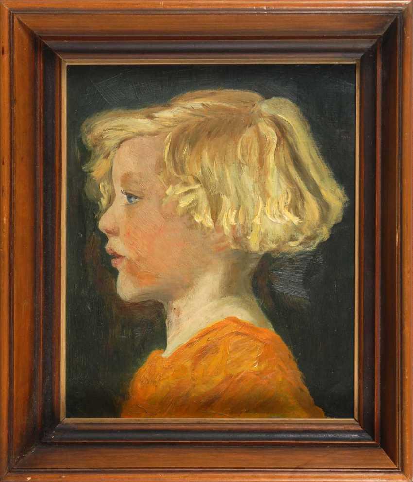 The North German Artist: Girl's Portrait - photo 2