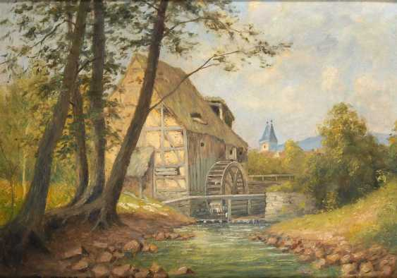 Oehler, Max: Old Mill. - photo 1