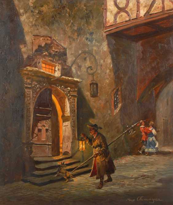 Ohmayer, Max: At the town hall in Rothenburg - photo 1