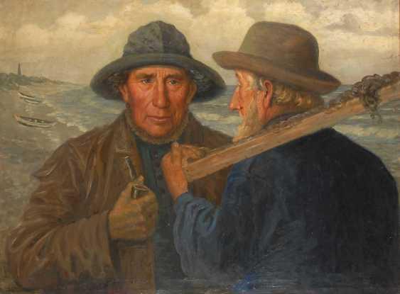 Petersen, AlberTiefe: Zwei Fischer. - photo 1
