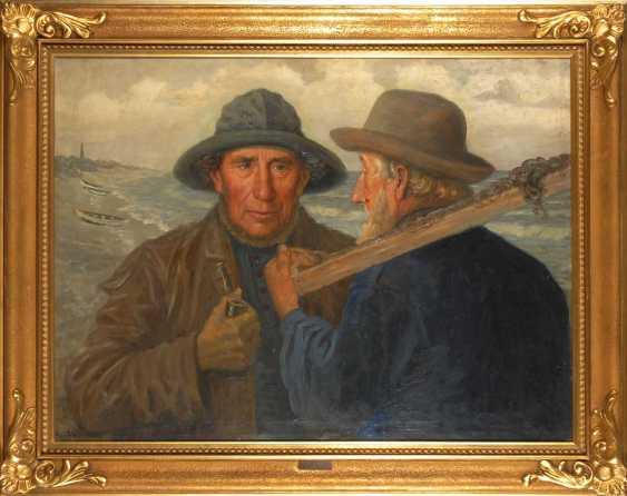 Petersen, AlberTiefe: Zwei Fischer. - photo 2