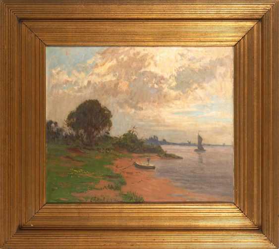 Petrich, ErnsTiefe: Strandansicht mit Schif - photo 2