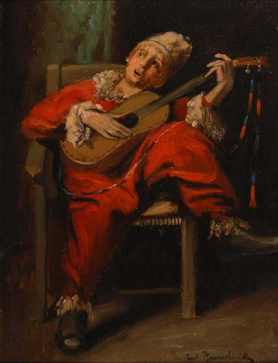Pfannschmidt, ErnsTiefe: Musizierender Clow - photo 1