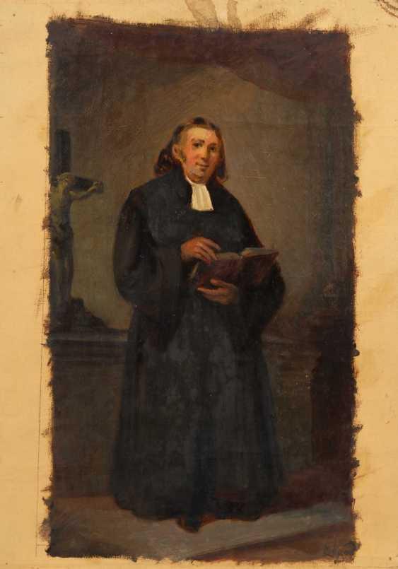 Portrait of a clergyman. - photo 1