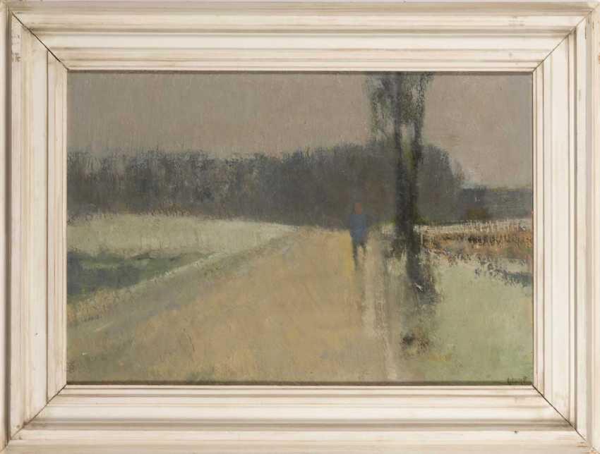 Poulsen, Georg: Winter Landscape. - photo 2