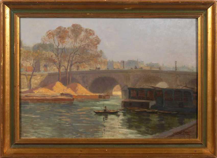 Cheers, Gaston Paris, with the Pont Neuf. - photo 2