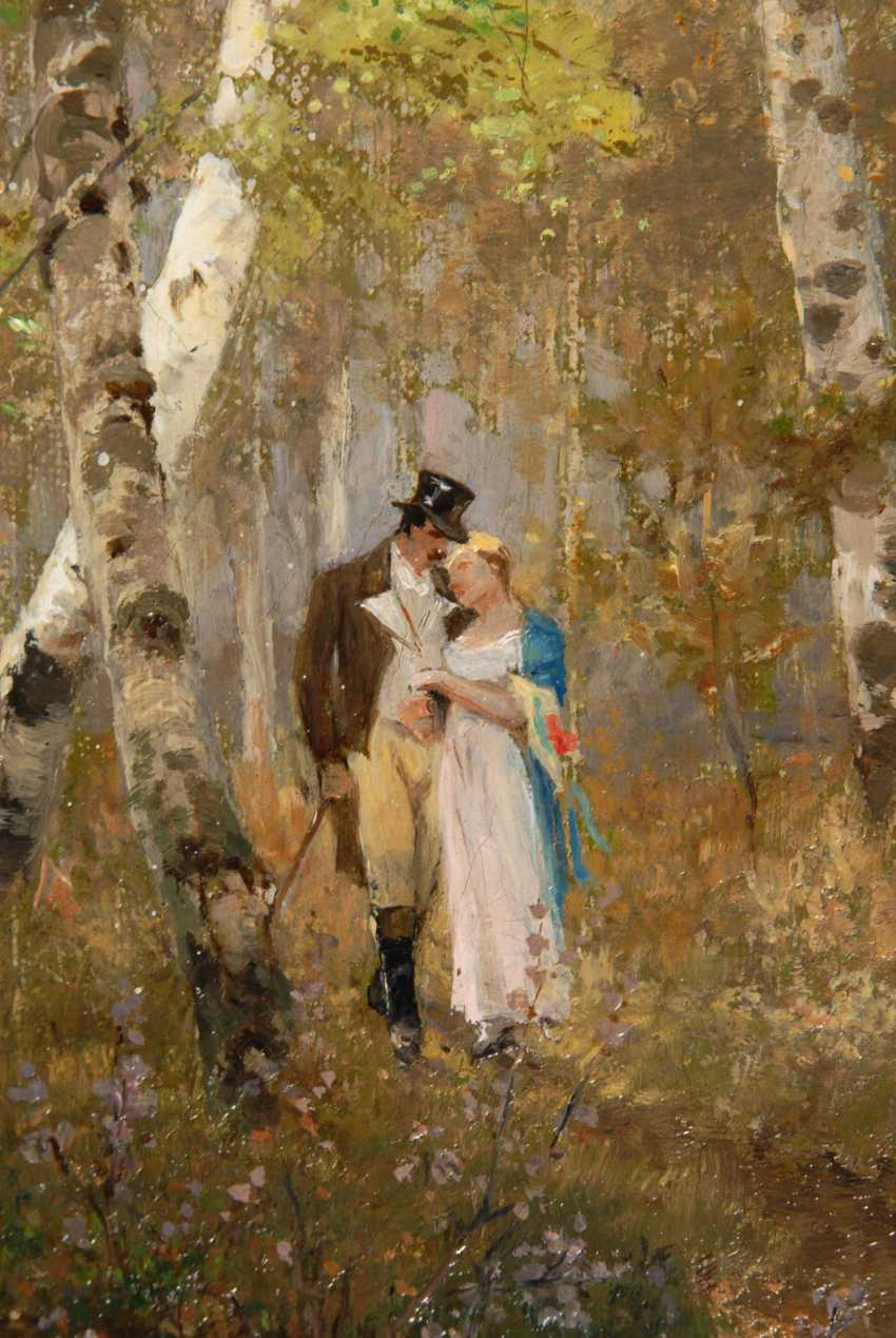 Püttner, Richard: The love couple in the Wal - photo 2