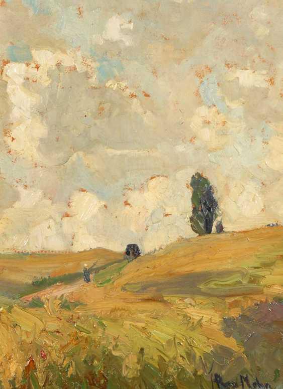 Rau-Mohn, Hedwig: Sunny Field Landscape - photo 1