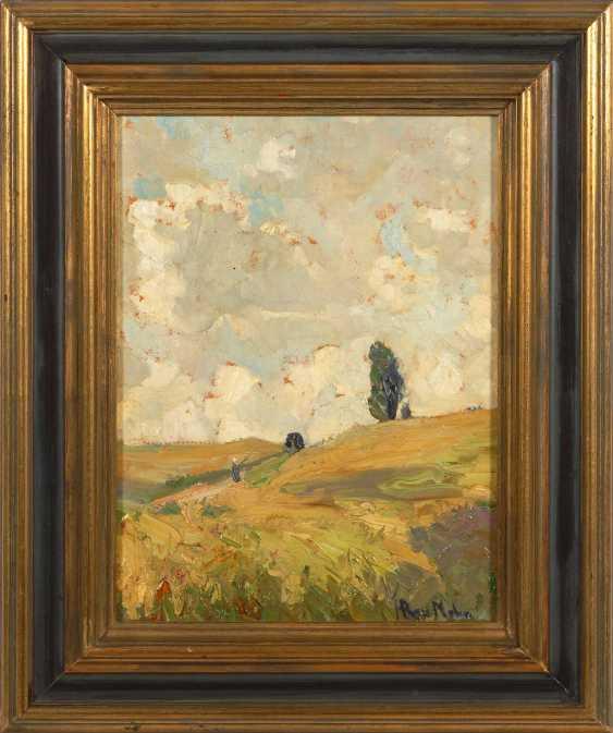 Rau-Mohn, Hedwig: Sunny Field Landscape - photo 2