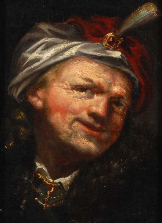Rembrandt succession: a man with a Turban. - photo 1