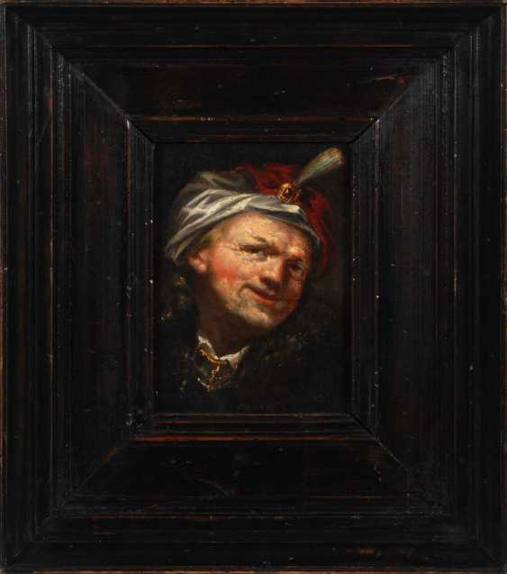 Rembrandt succession: a man with a Turban. - photo 3
