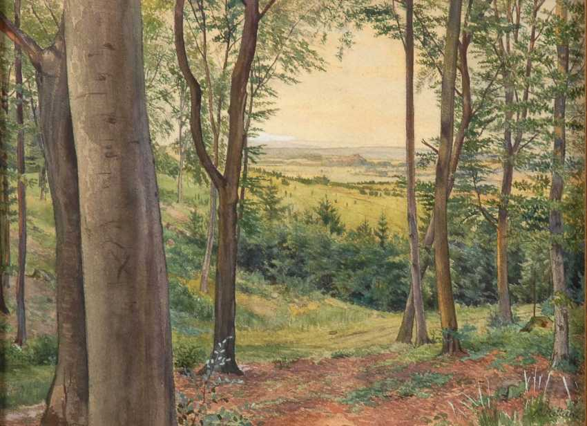 Radish, Karl Lorenz: Mountain Landscape - photo 1