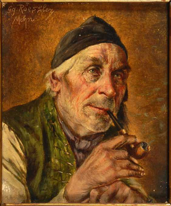 Roessler, Georg: A Pipe Smoker. - photo 1