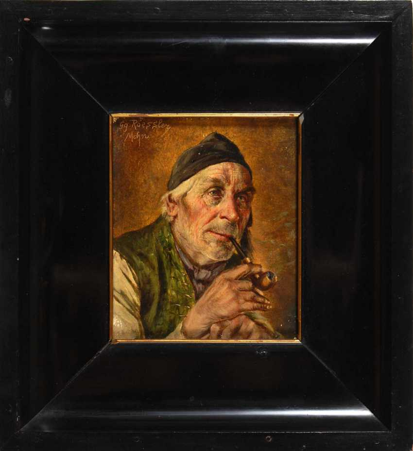 Roessler, Georg: A Pipe Smoker. - photo 2