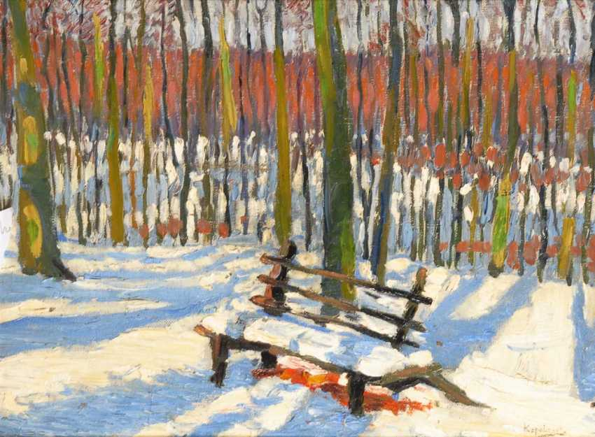 Russian Artists: Winter Landscape. - photo 1