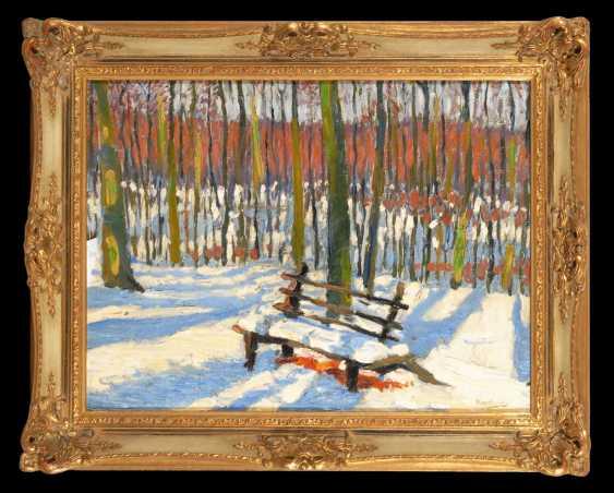 Russian Artists: Winter Landscape. - photo 2