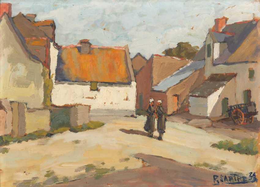 Sartre, René: the village square in the sunshine - photo 1