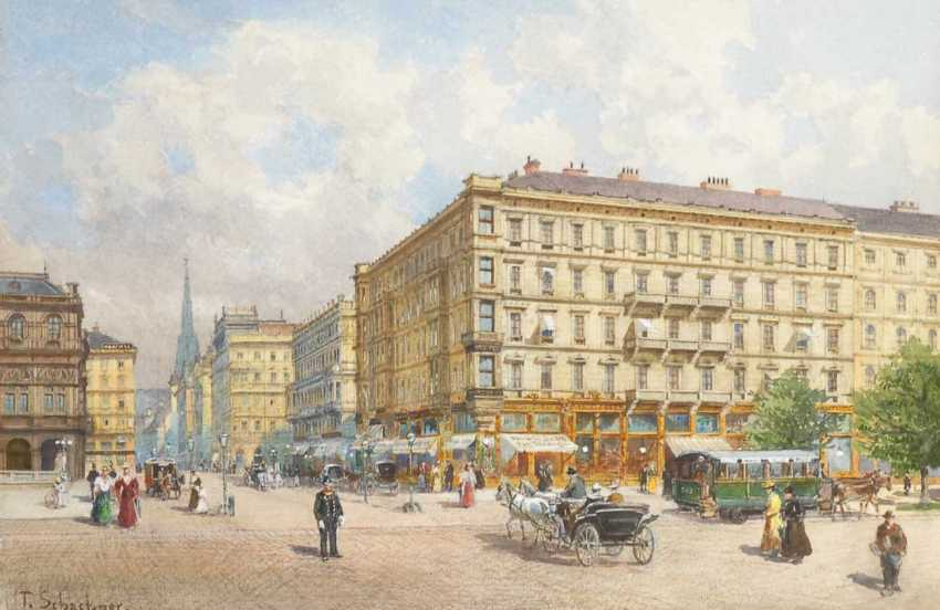 Schachner, Therese, Vienna - a view to the Op - photo 1