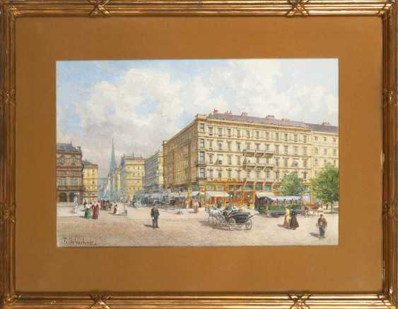 Schachner, Therese, Vienna - a view to the Op - photo 2