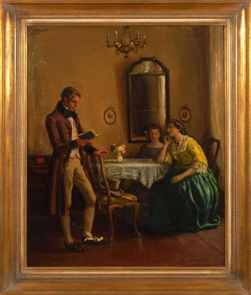 Schaupp, Richard: Reading Hour. - photo 2