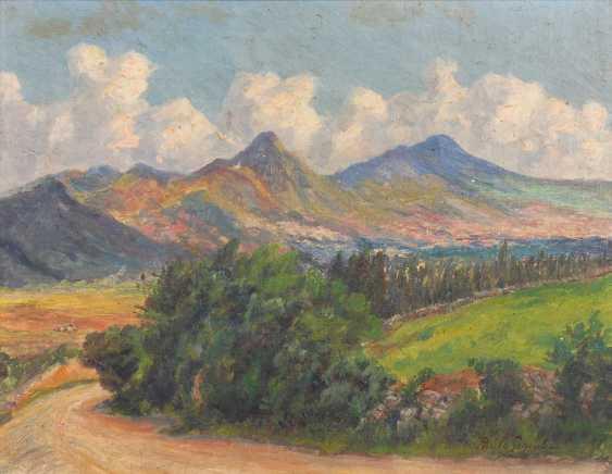 Schouboe, Pablo: In A Sunny Landscape. - photo 1