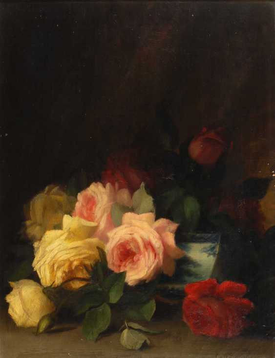Seavey, George W.: still life with roses - photo 1