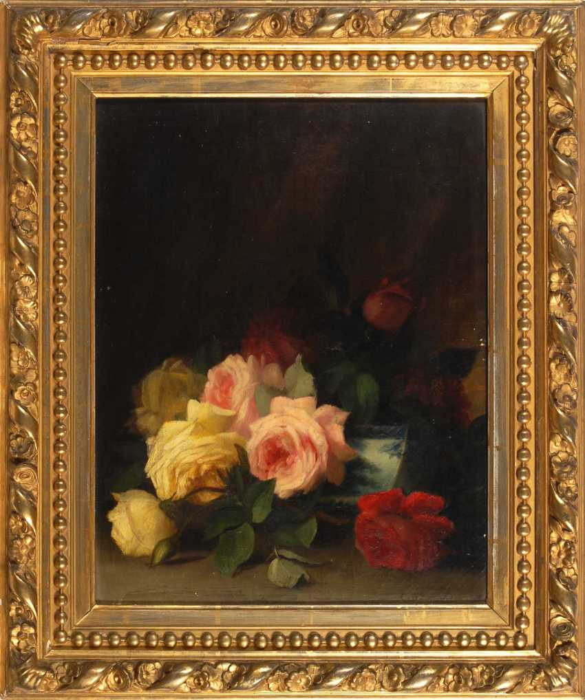 Seavey, George W.: still life with roses - photo 2