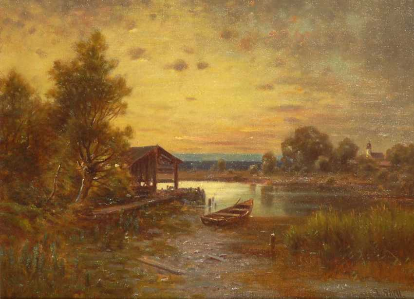 "Skell, Ludwig: ""evening on the Rohrsee at Ko - photo 1"