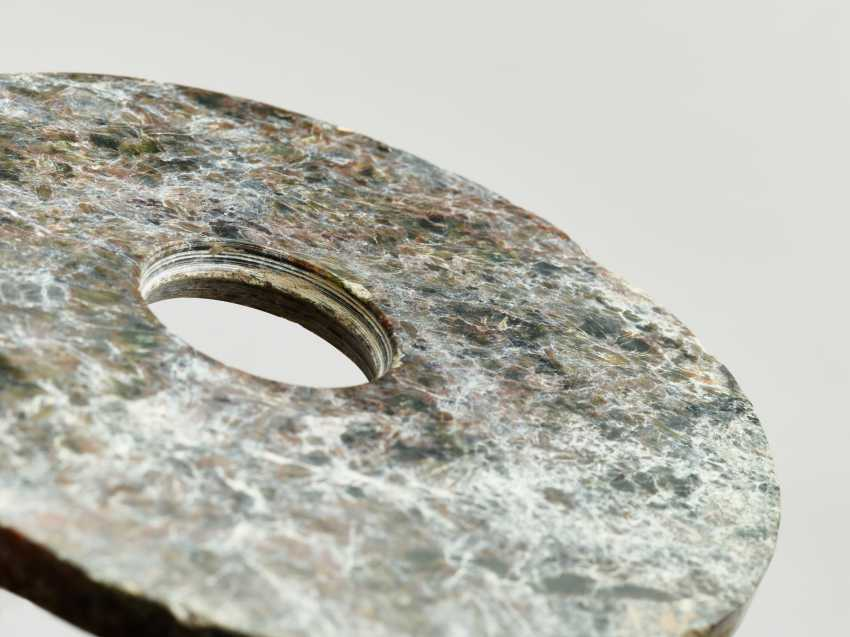 ARCHAIC BI DISC WITH A PARTICULARLY ATTRACTIVE GRAIN - photo 3