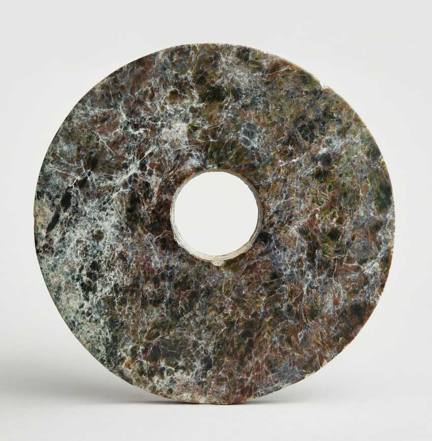 ARCHAIC BI DISC WITH A PARTICULARLY ATTRACTIVE GRAIN - photo 1