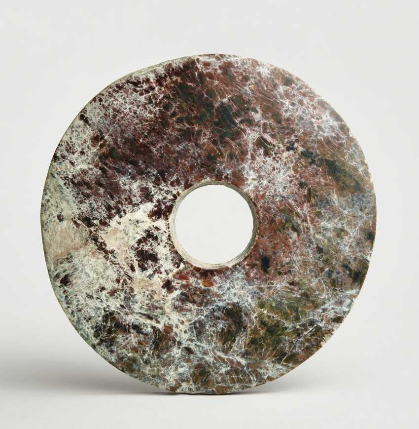 ARCHAIC BI DISC WITH A PARTICULARLY ATTRACTIVE GRAIN - photo 2