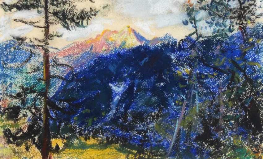 Szpinger, Alexander von: mountain view - photo 1