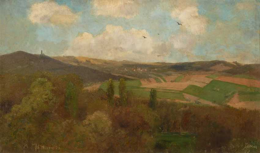 "Thamm, Adolf: view of the ""Jena with the - photo 1"