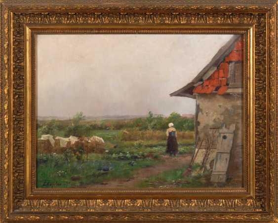 Thamm, Adolf: The French Farm. - photo 2