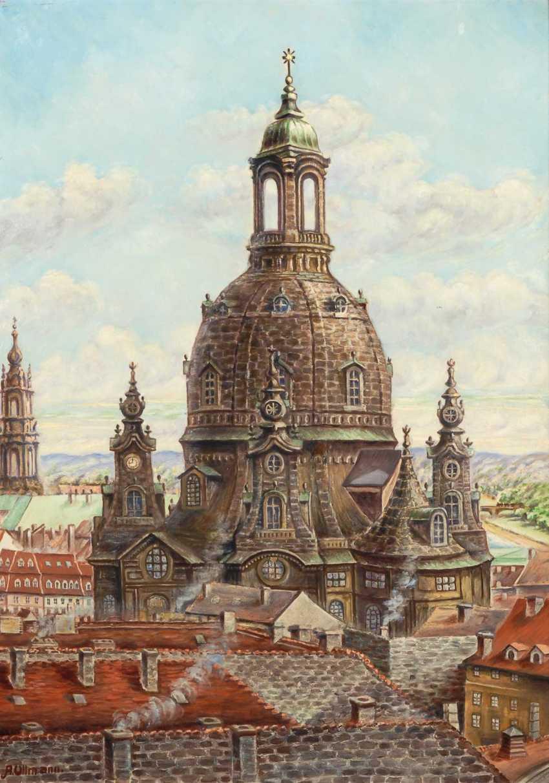 Ullmann, A.: The Frauenkirche, in Dresde - photo 1