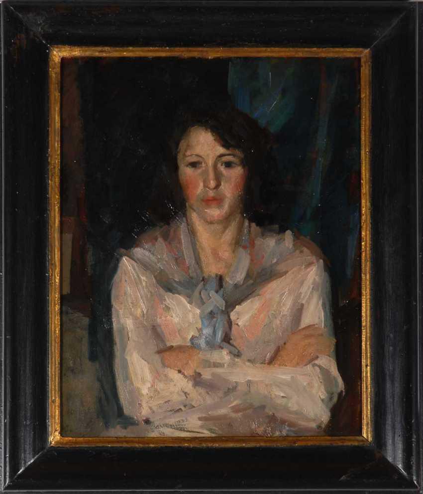 Unknown Impressionist 1900: woman - photo 2
