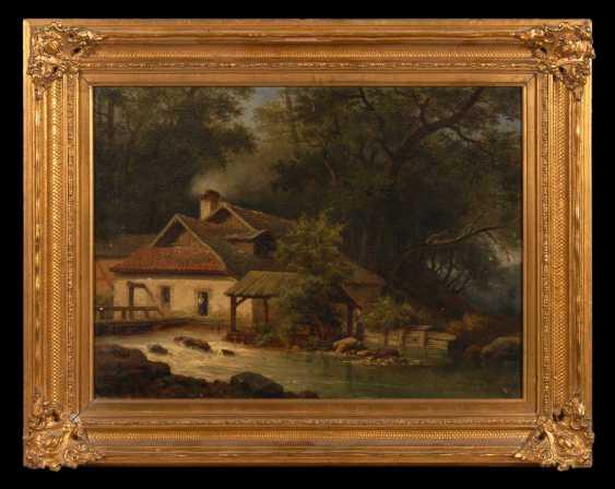 UnsignierTiefe: Mühle am Wasserlauf. - photo 2