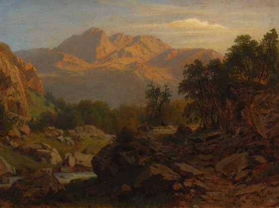 Full Weider, Johann Jacob: mountain stream i - photo 1