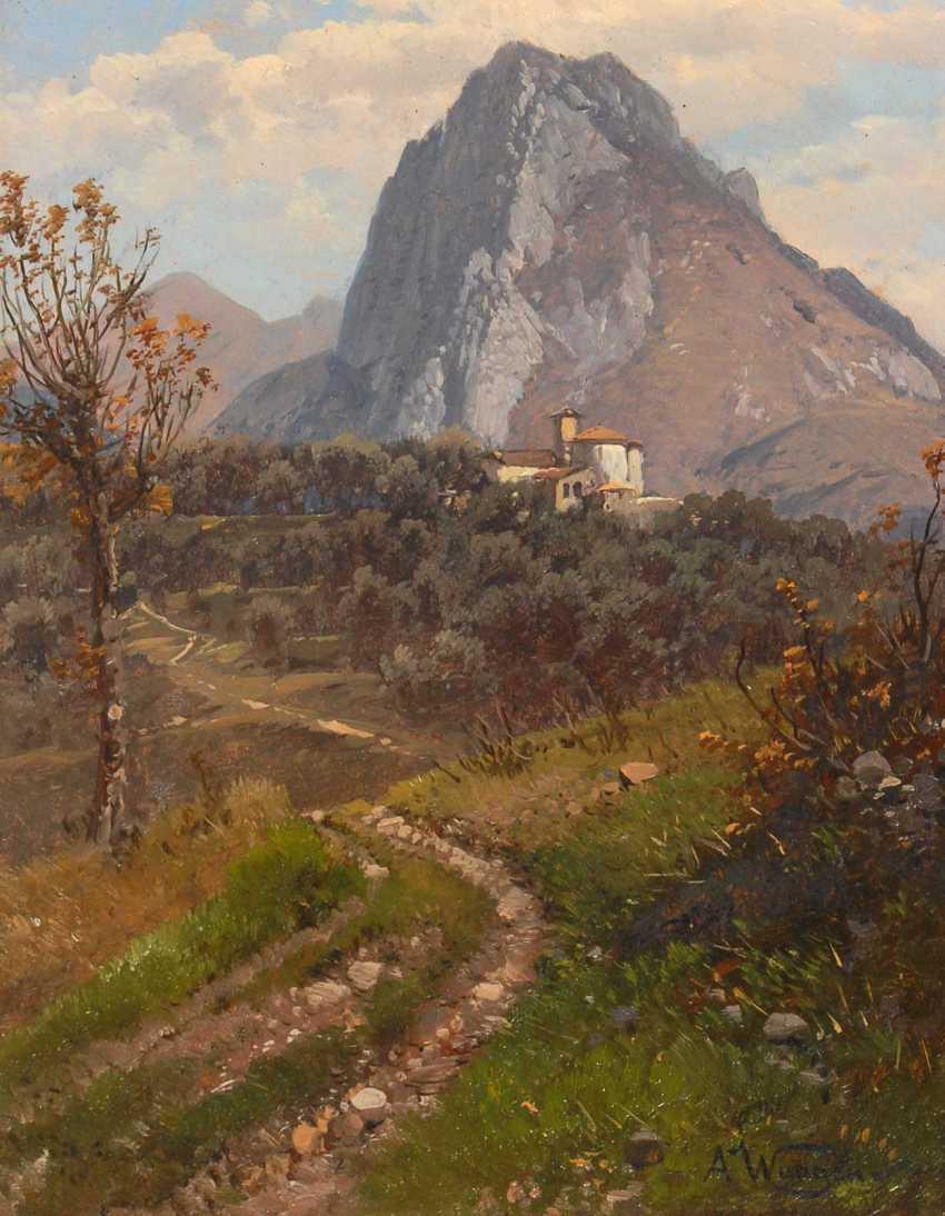 Waagen, AdalberTiefe: Italienische Bergland - photo 1