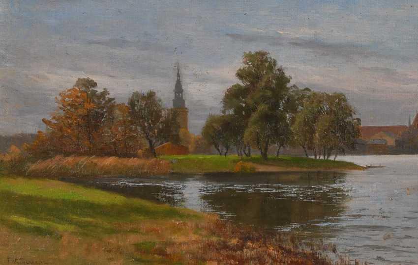 Wachenhusen, Friedric Height: On The Shore Of The Lake. - photo 1