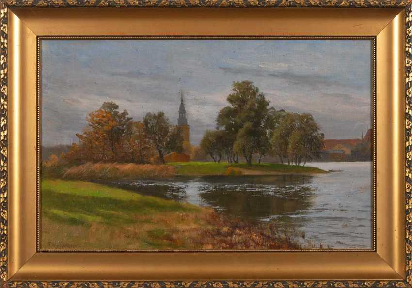 Wachenhusen, Friedric Height: On The Shore Of The Lake. - photo 2